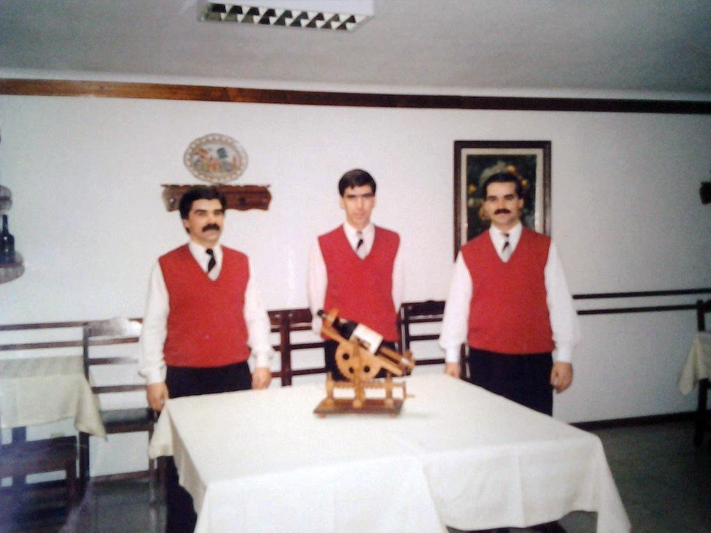 Equipa inicial do Restaurante Santa Luzia