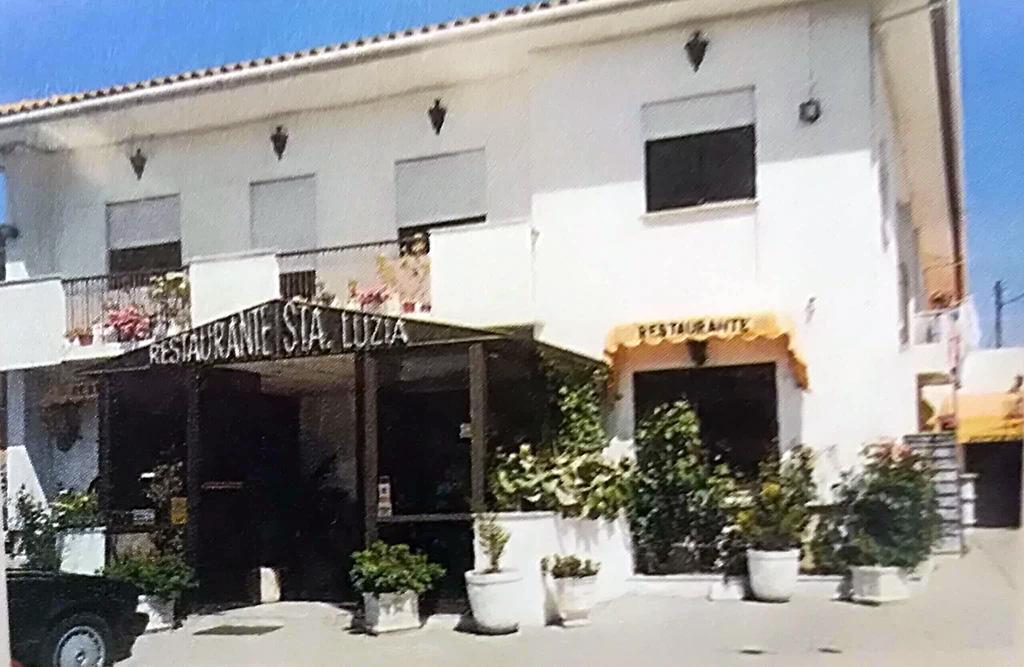 Restaurante Santa Luzia antigo