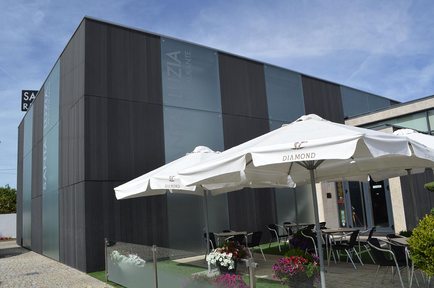 Exterior do Restaurante Santa Luzia